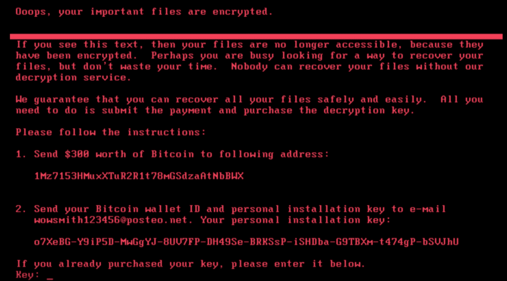 PSA: Petya Ransomware Affecting Critical Systems Globally: Here's What to Do.